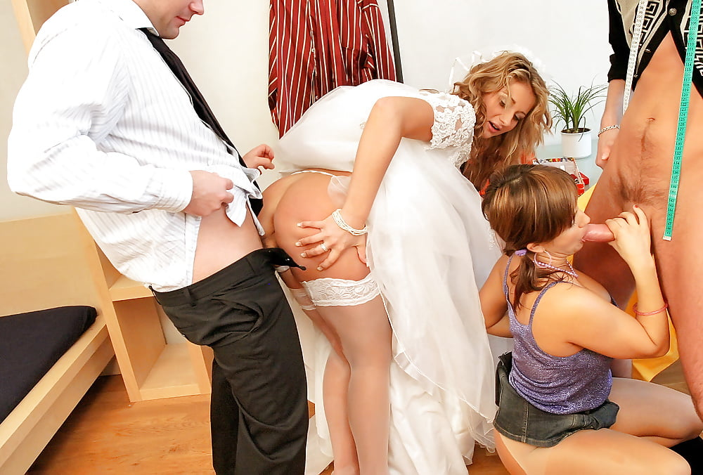 Секс На Русской Свадьбе