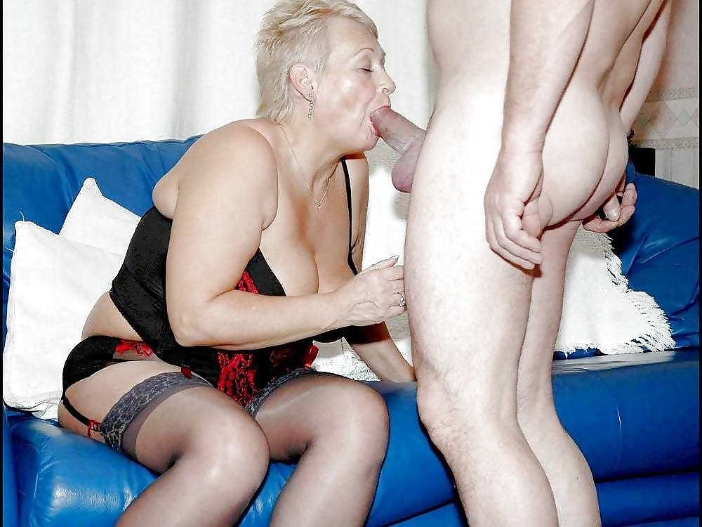 Horny Mature Lady Valeria Loves To Take Two Cocks In Her Mouth