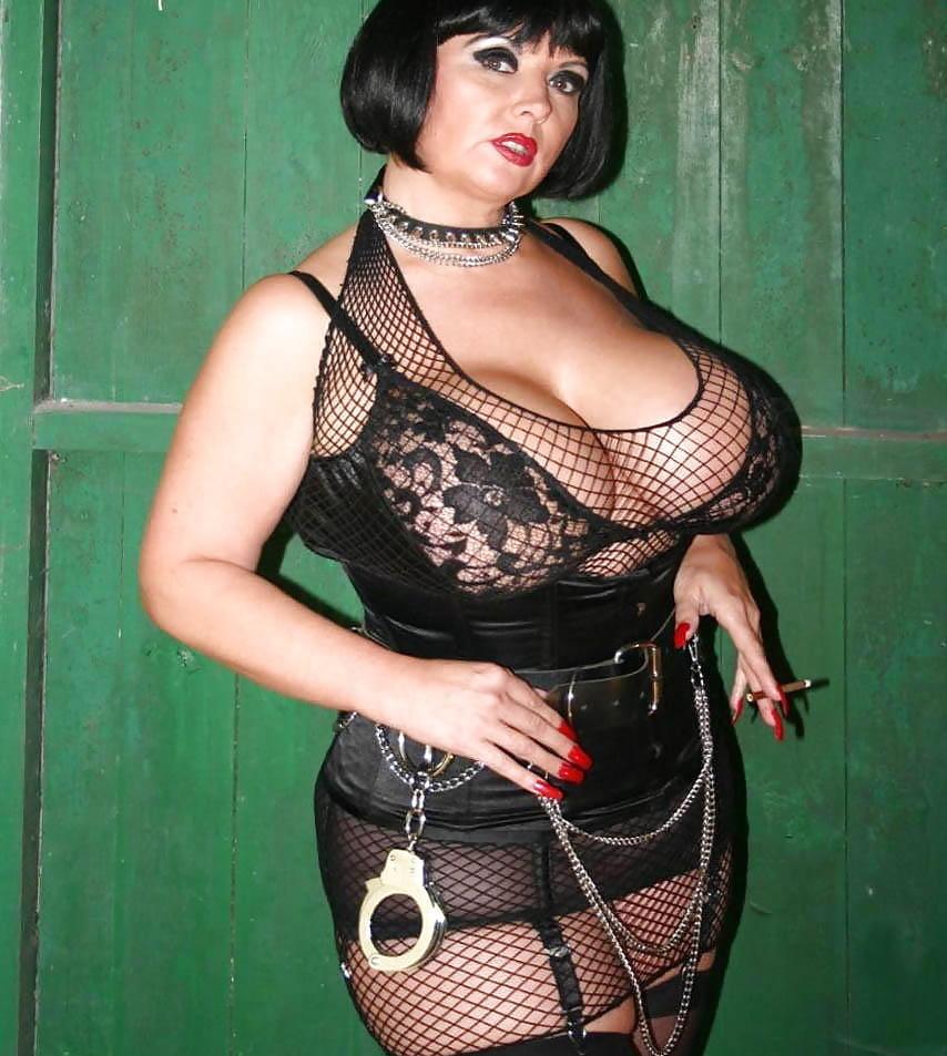 Big tit femdom mistress