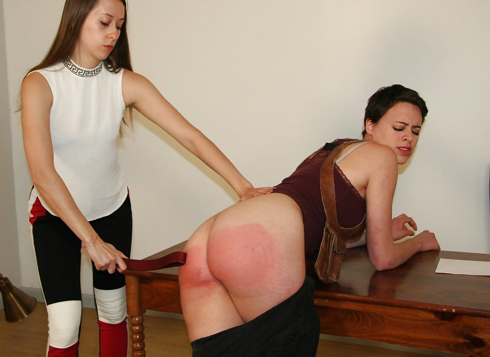 Naughty Naked Spanking And Strapping