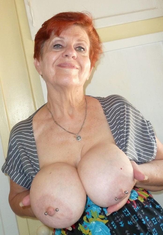 My grandma flashing