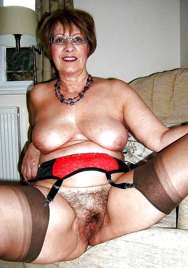 Mature granny panties