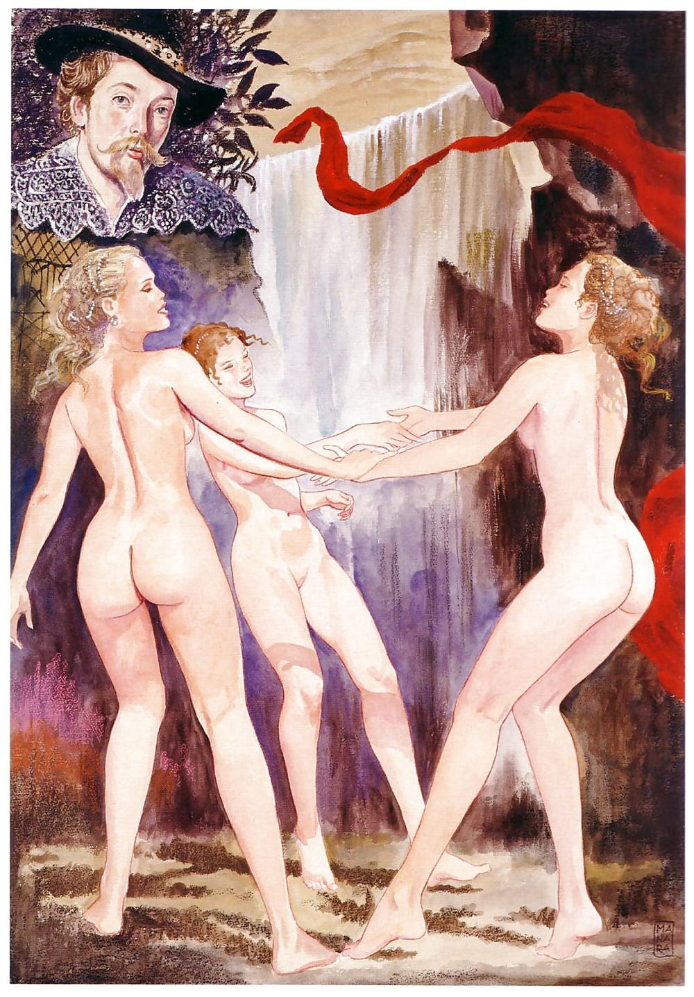 брюнетка искусство эротика видео или даме