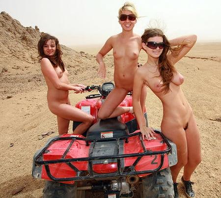 Hot girls on atv
