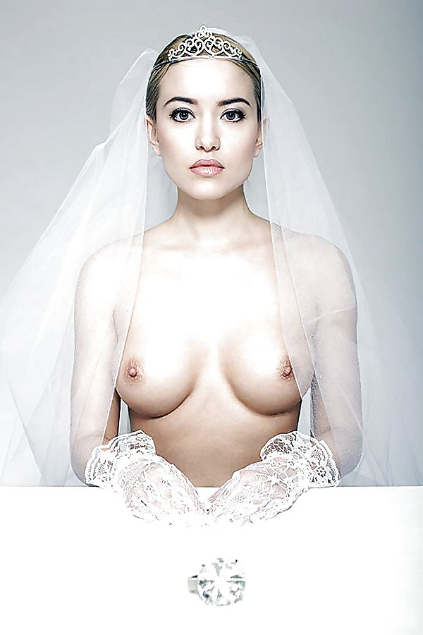 The Naked Wedding Dress Trend Is Happening