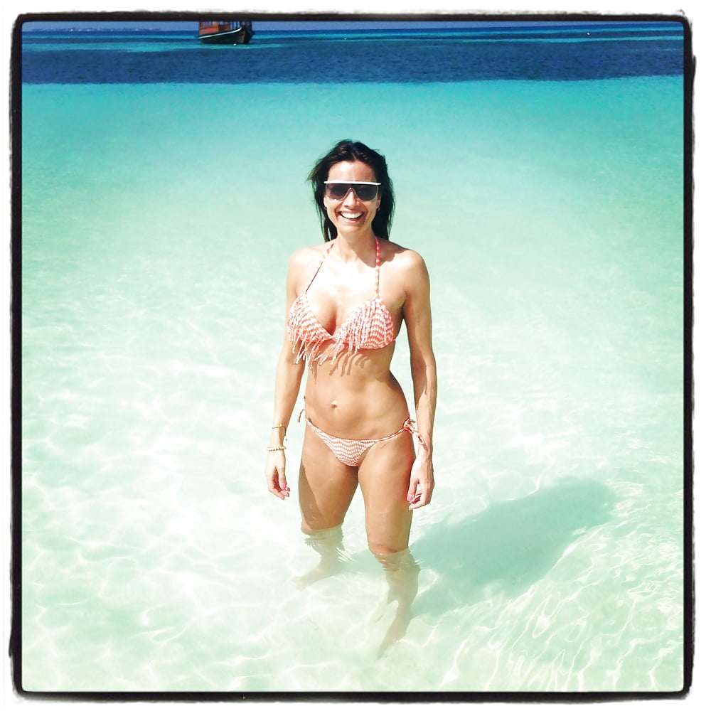 Nackt melanie sykes Who is