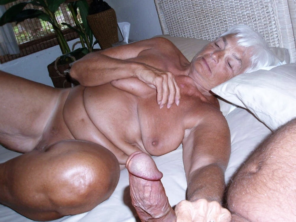 My Grandpa With Long Uncut Cock With My Grandma With Big Saggy Tits And Hairy Pussy