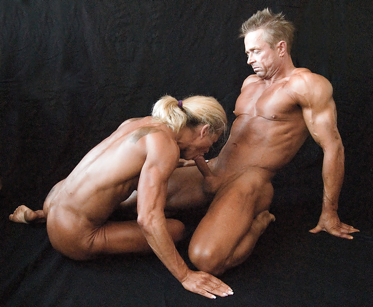Nude male and female body builders getting fucked hardcore