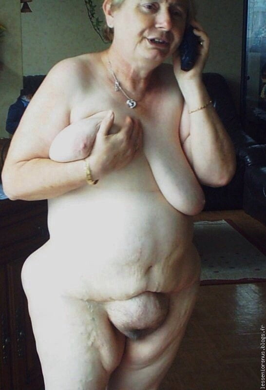 Ugly nude granny