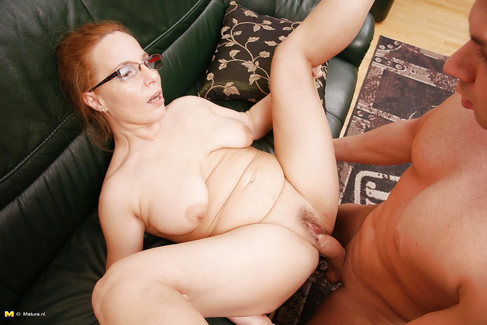 Featured Sexy Redhead Hairy Mature With Big Tits Fucks And Creampied Porn Pics Xhamster