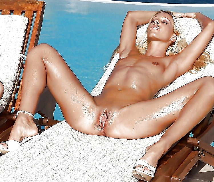 Naked tanned brunette amberwillis in private