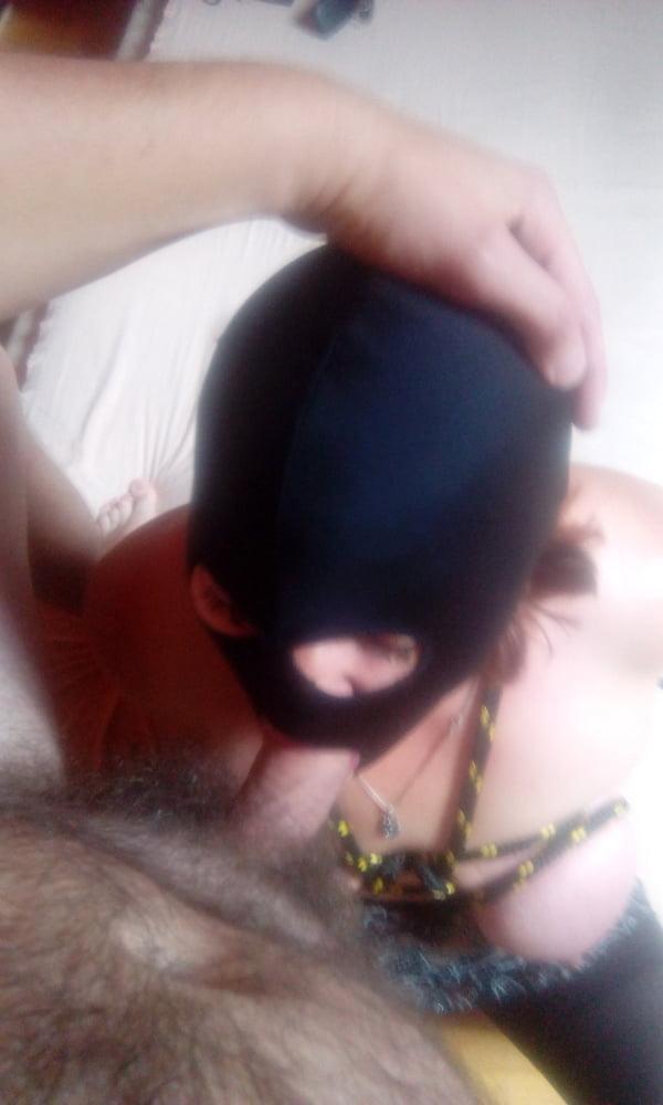 Polish prostitute in titty bondage - 5 Pics