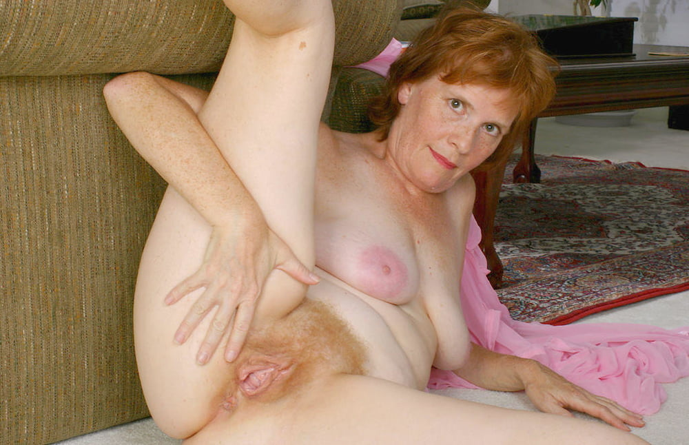 Hairy Redhead Granny