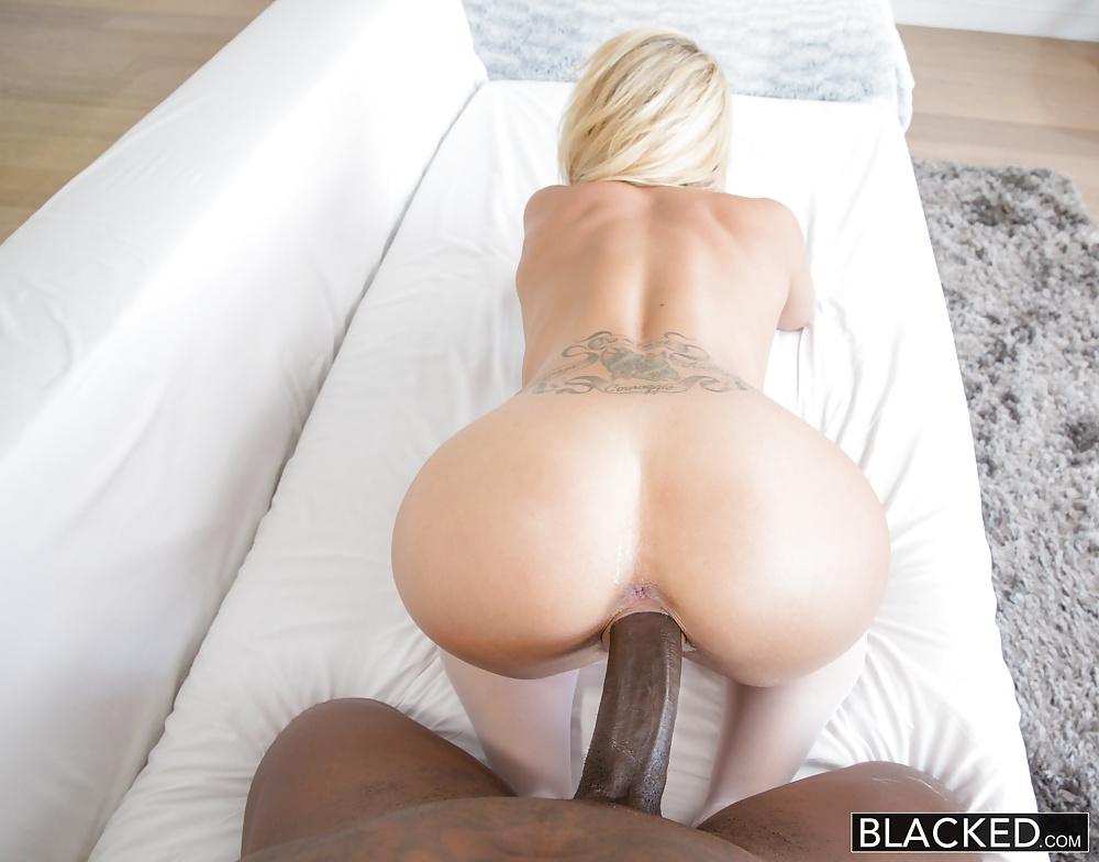 Wife Sucks Big White Cock