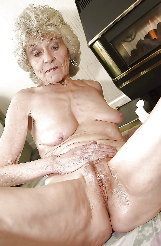 Silver haired pussy #12