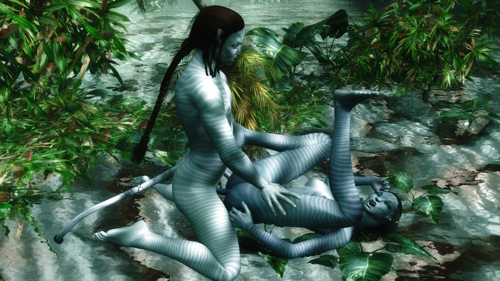 Virtual avatar sex video, girls getting wasted smoking pot