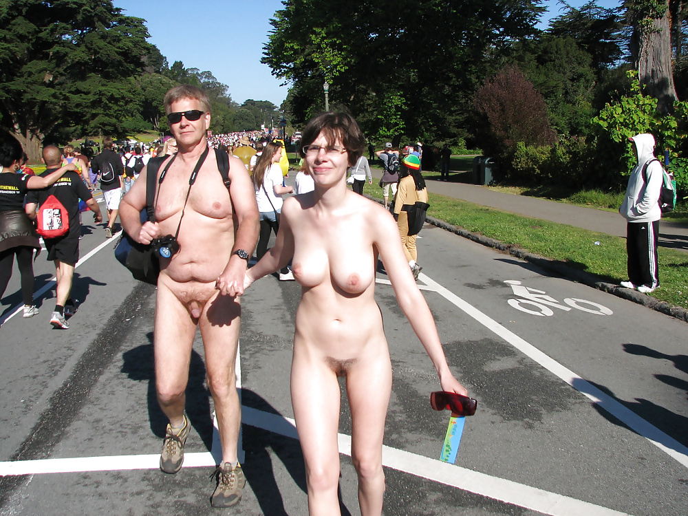 Wnbr Nude In Public Naked Slave