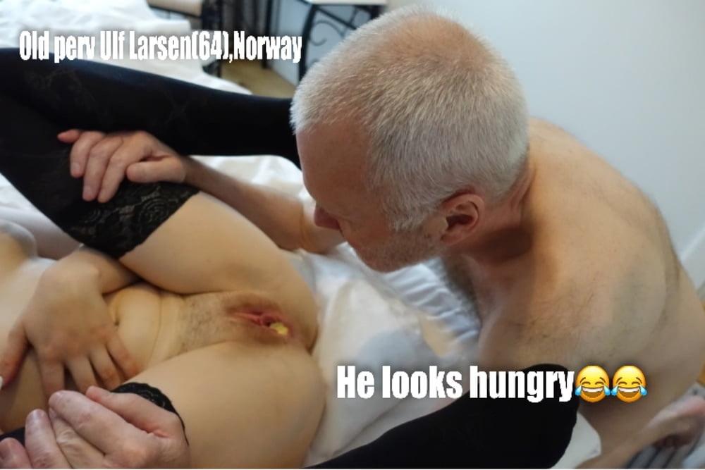 Pervy Grandpa Ulf Larsen(64) from Norway and his girls- 20 Pics