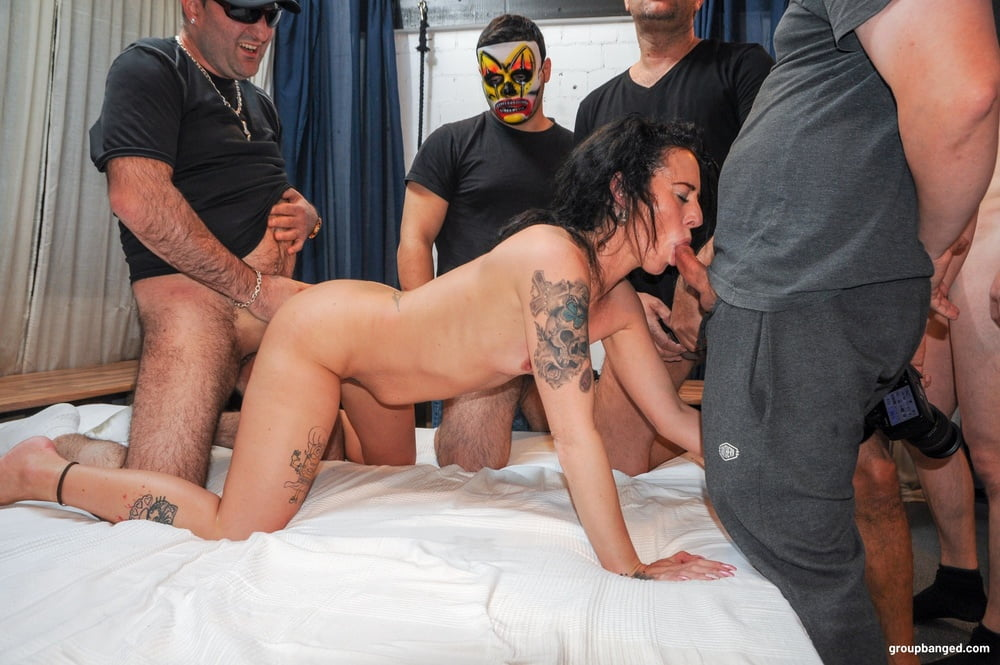 Covered in Love at GroupBanged - 16 Pics