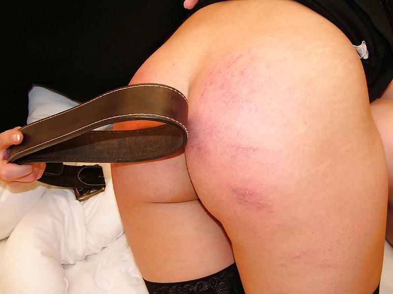 Bare Bottom Spanking Otk