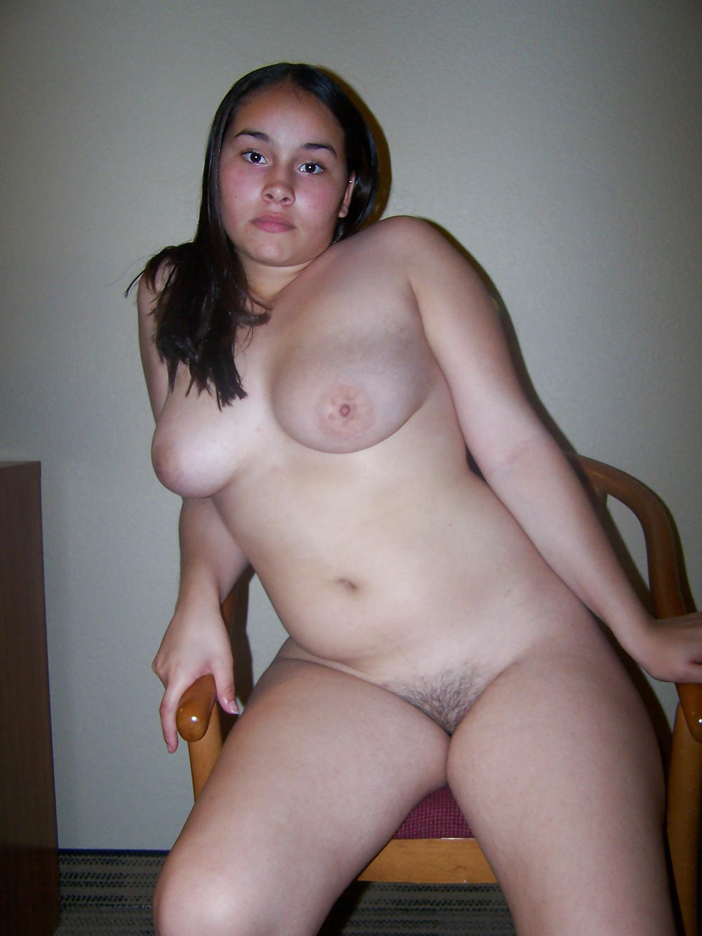 Chubby amateur naked girl