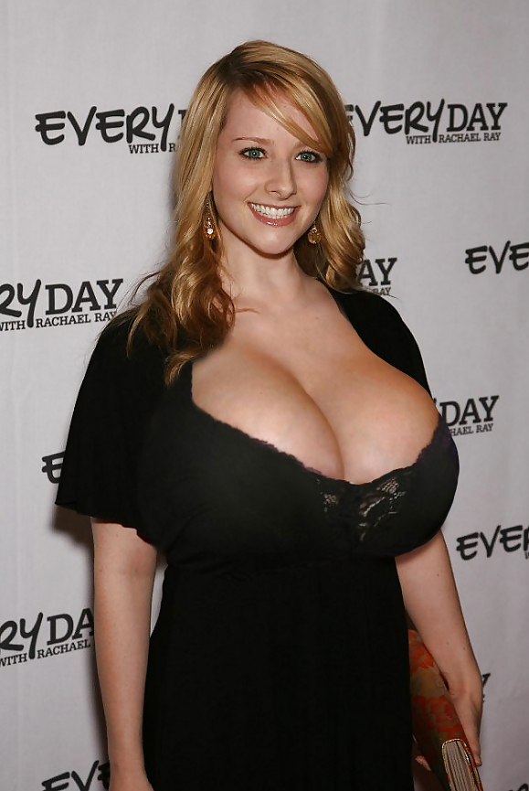 What celebrity has the biggest tits