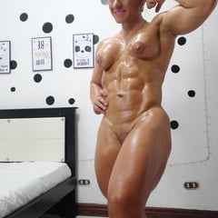 Oil On My Muscular Body