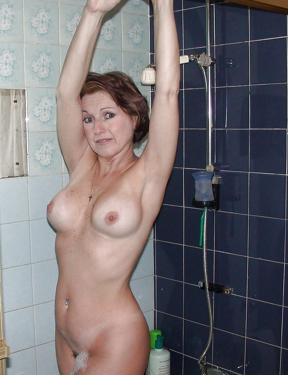 Surprised In The Shower