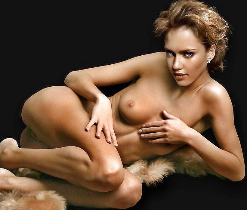 Jessica alba nude pics are super rare