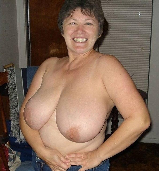 Granny big tits hairy pussy