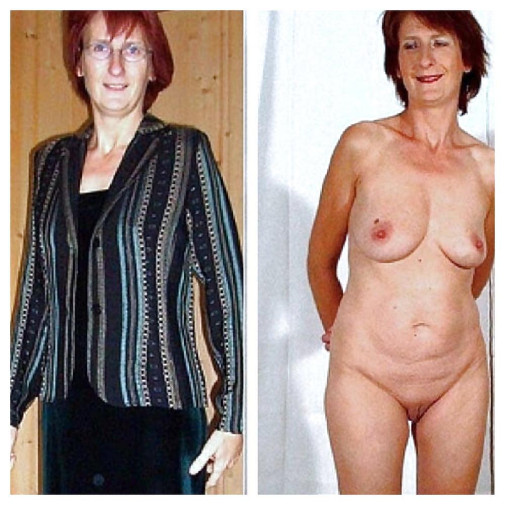 Older women caught naked-5402