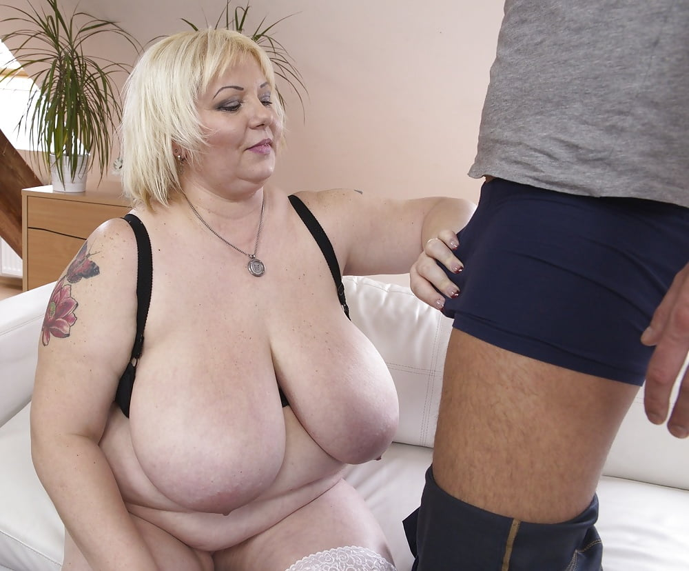 Large breasted mature video #9