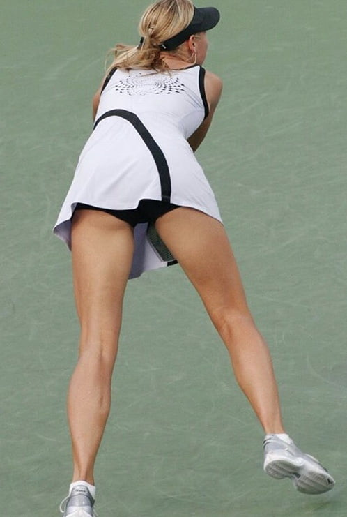 Maria sharapova has sexy ass