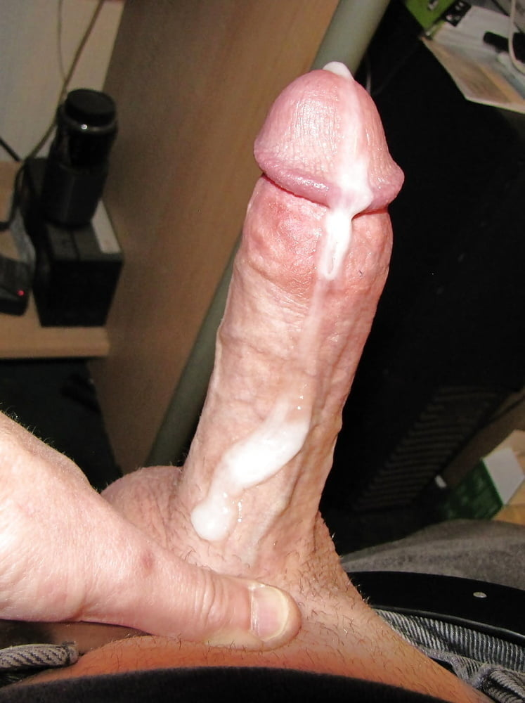 Dick with cum on it