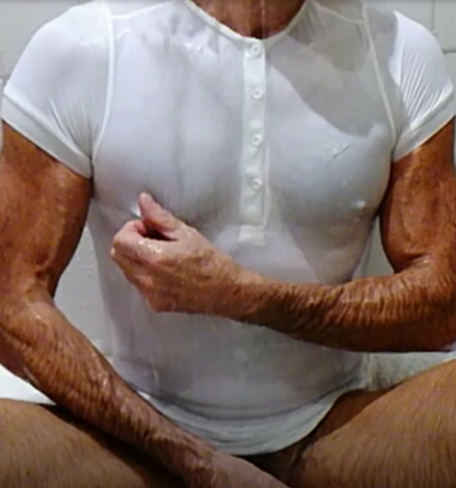 Nipple Polo, Nylon and Stretch Jeans - 21 Pics