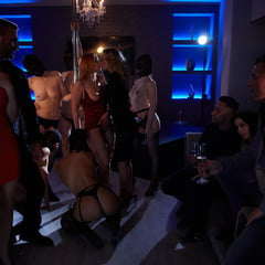 A Room Full Of Lust At SinfulRAW
