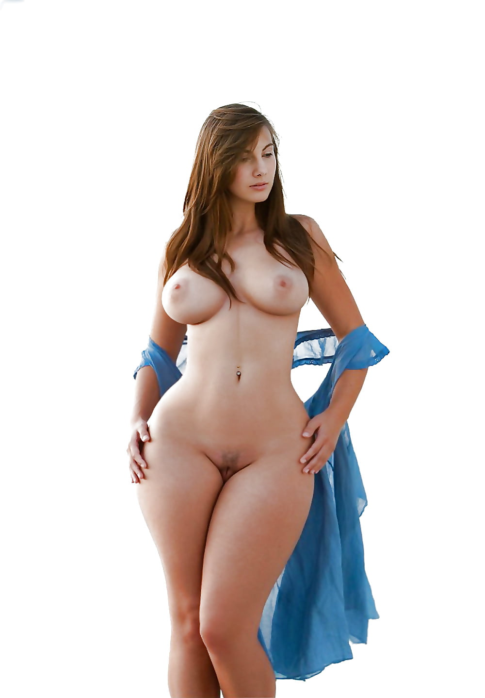 Naked women with big hips a big breasts — pic 5