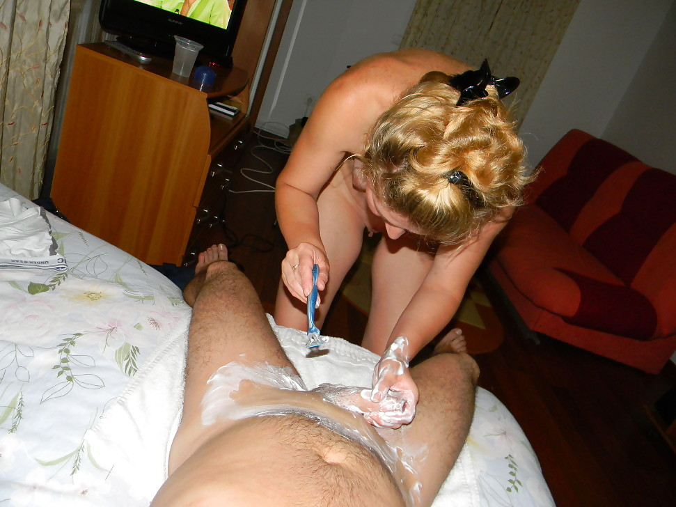 Shaving Cock By Girl Porn Pics