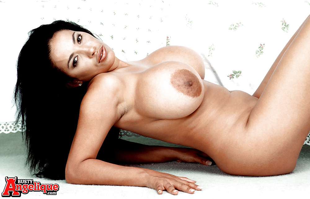 Angelique busty dildo lover seems remarkable