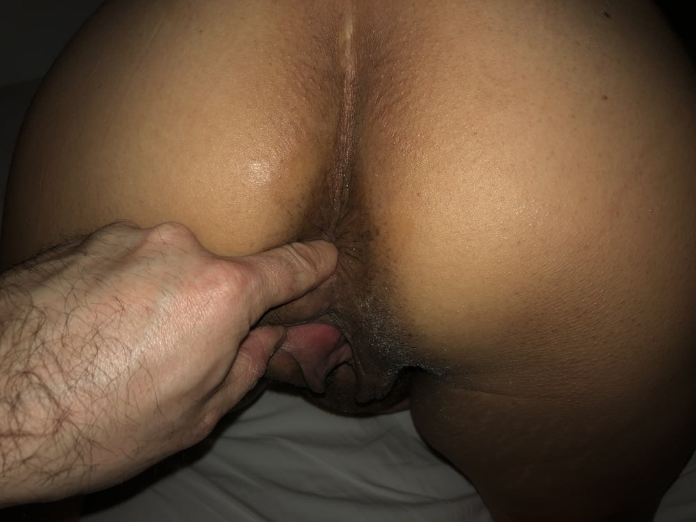 Smutty arse fucking with sex toy-8036