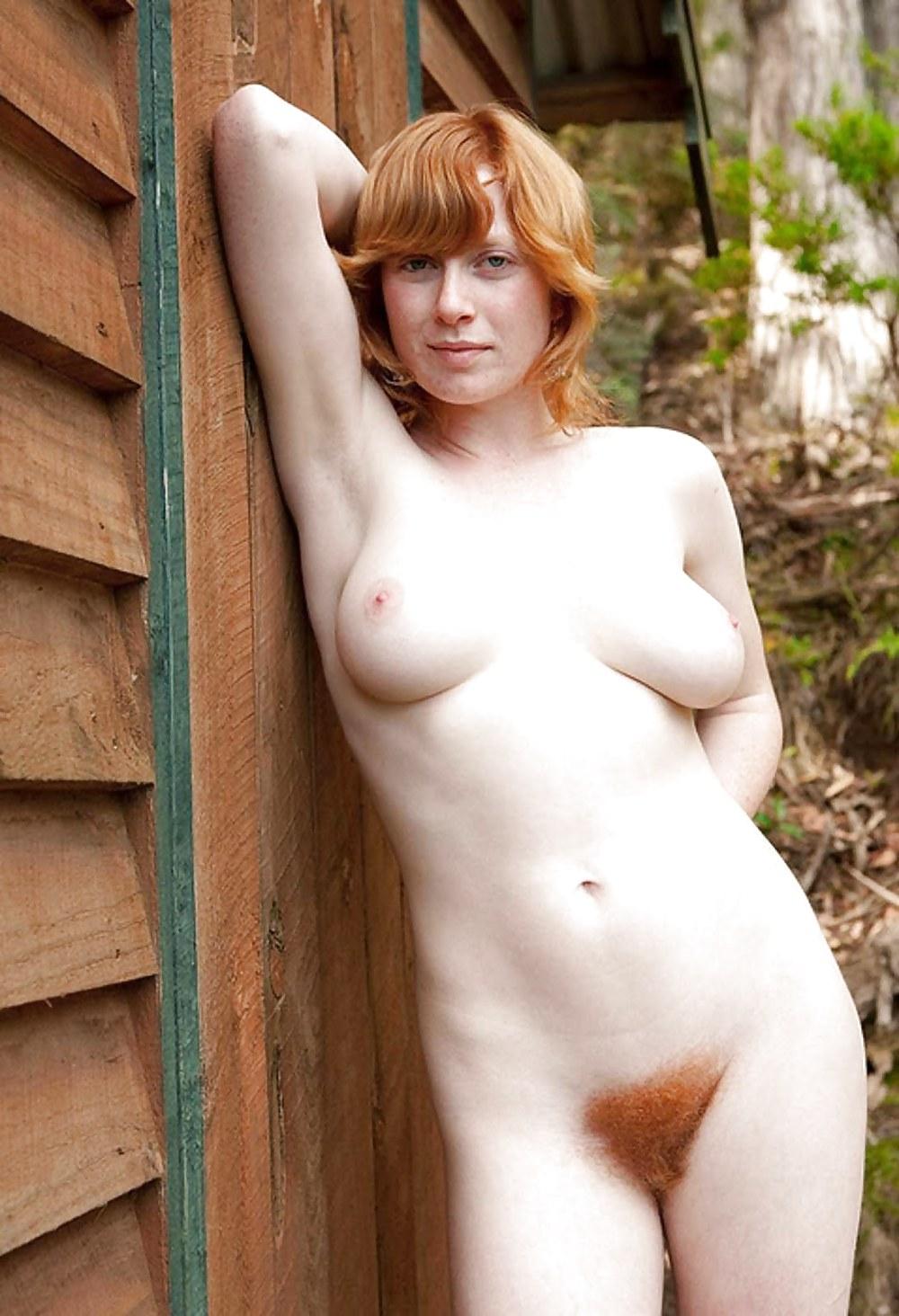 Nude hairy redhead women-4523