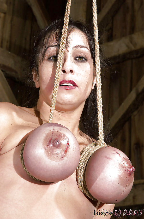 Videos of women suspended by breasts