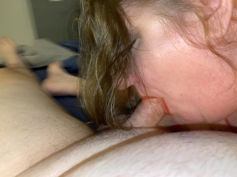 Slutty BBW wife dolled up - 41 Pics