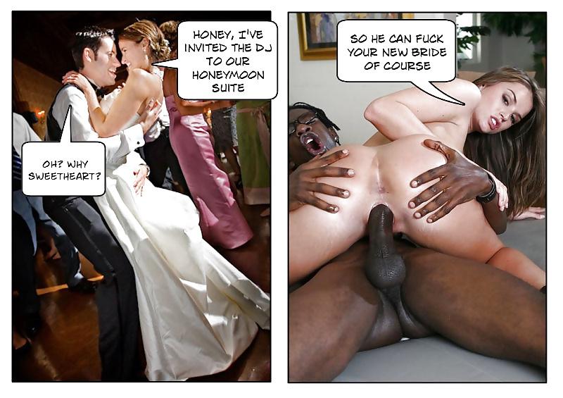 Interracial honeymoon vacation