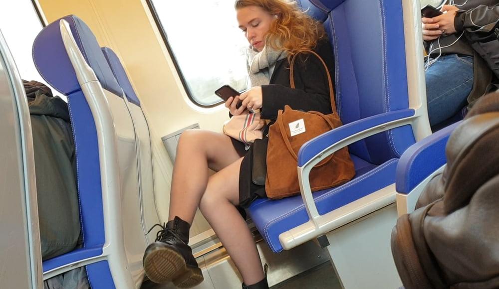 Sex porn on train