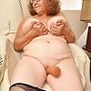60 year old grandma Brenda from OlderWomanFun