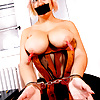 Tasty Terry with pegs on her big nipples..