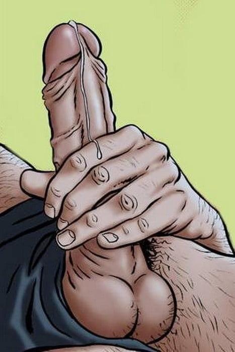 cartoon-masturbation-arm-caught