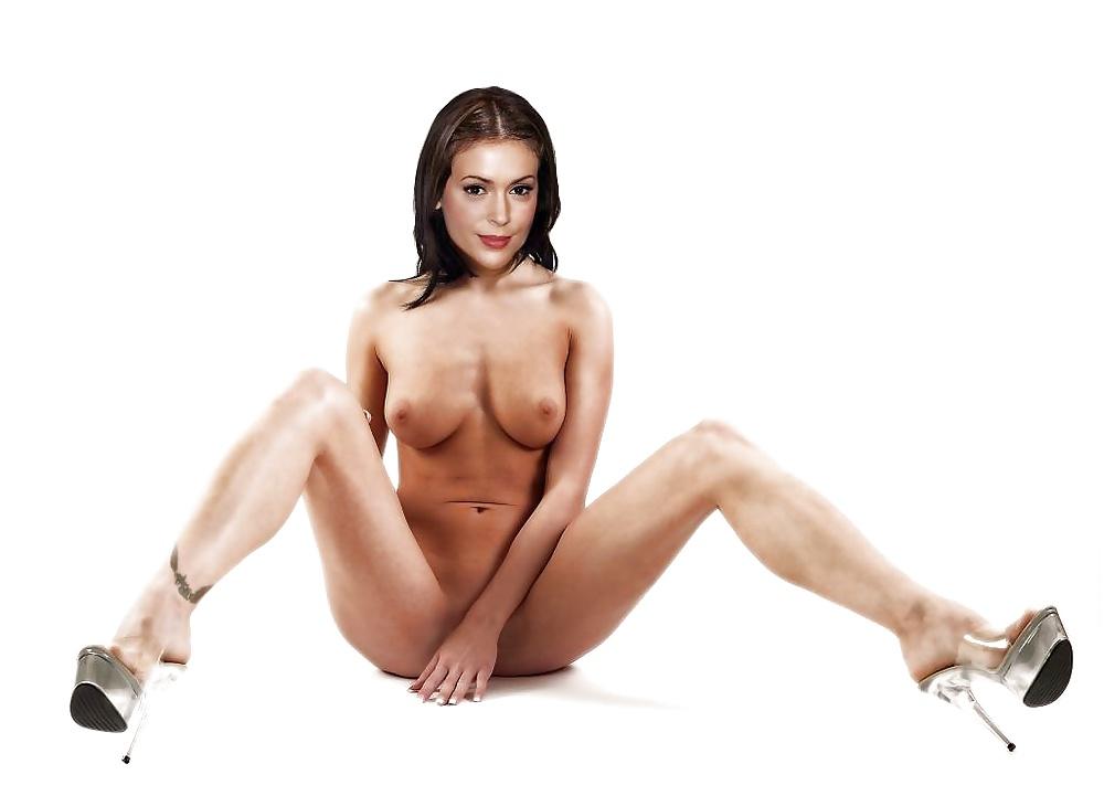 Alyssa milano naked celebrity pictures
