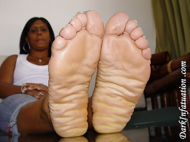 Big ebony soles
